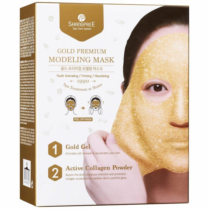 Золотая коллагеновая маска