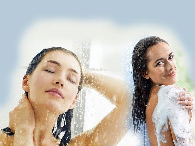 Фотки в бане в душе девушки