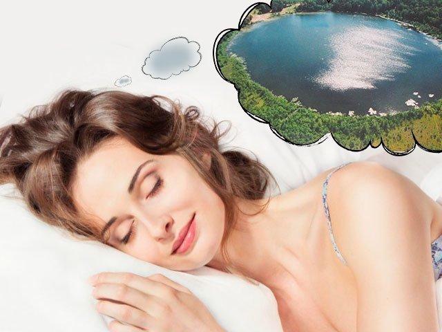 Сонник озеро для женщины