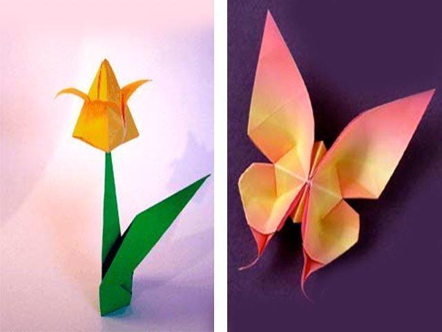 Оригами подарок на день рождения прабабушке