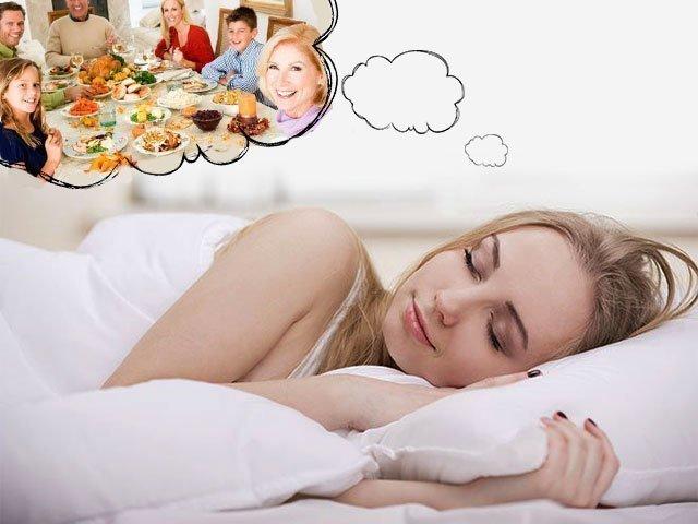 Видеть во сне застолье много гостей