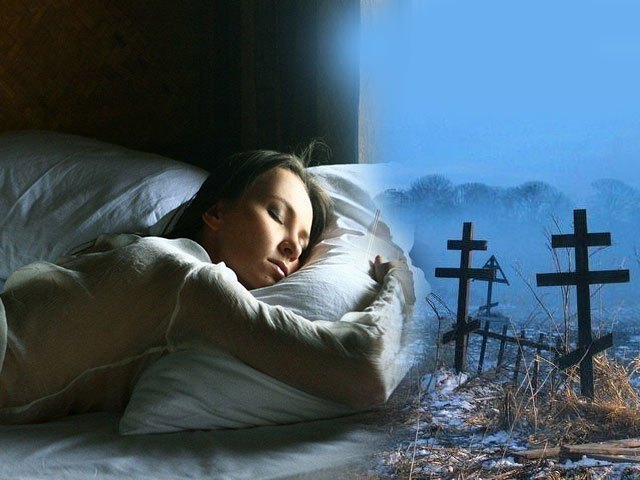 Сонник убирать могилу на кладбище
