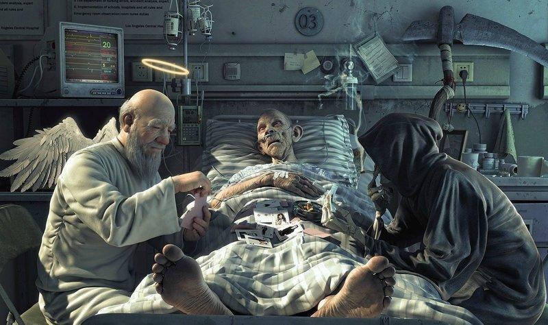Смерть незнакомца во сне
