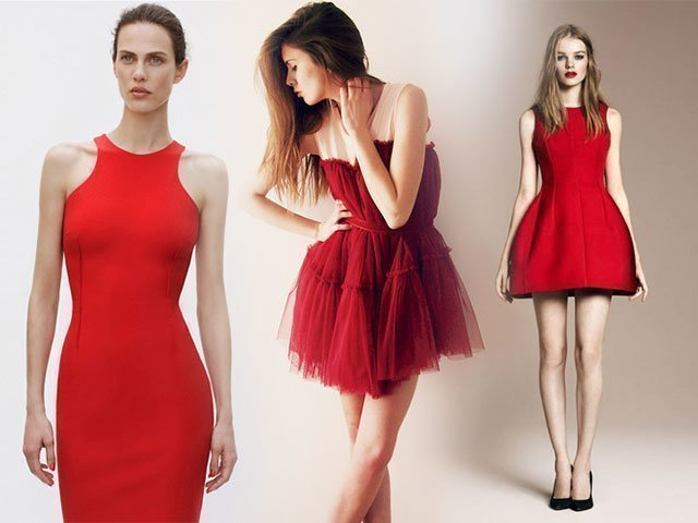 cb6e190c26f 1 Красное платье  фото новинки 2018 года