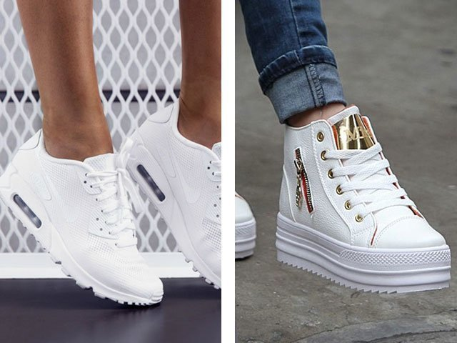 Самые модные женские зимние и летние кроссовки 9ec31273ef6