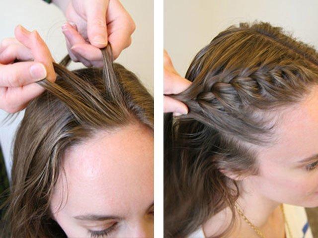 Плетение красивых косичек для девочек на разную длину волос