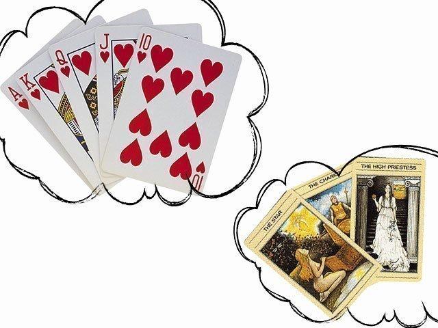 мужем с покойным сон в карты играть