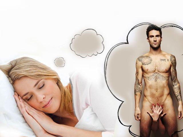 К сниться мужской член