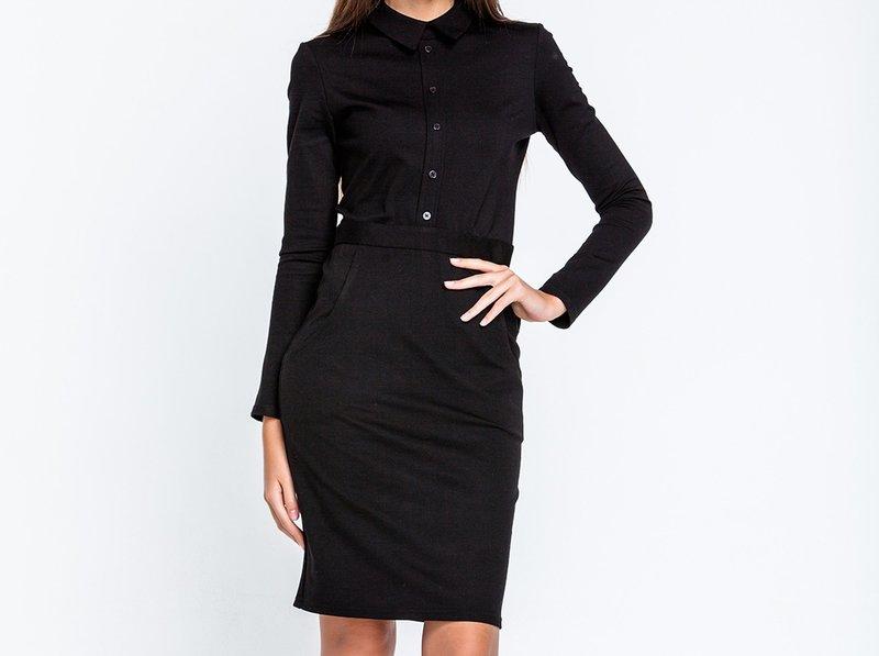 Платье-футляр с ремешком