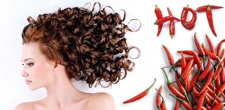 Маски для волос с перцем