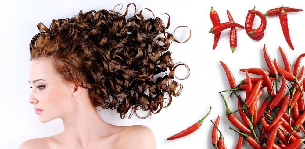 Маска с перцем для волос, укрепление и восстановление, маска с красным перцем от выпадения волос
