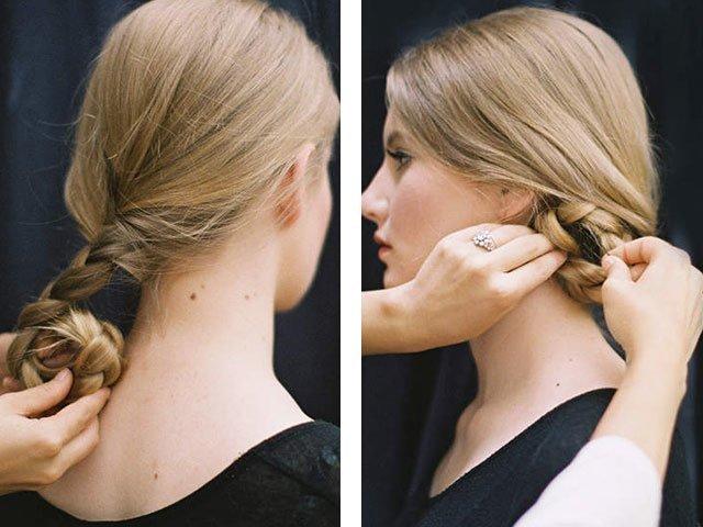 Укладка на длинные волосы своими руками видео фото 615