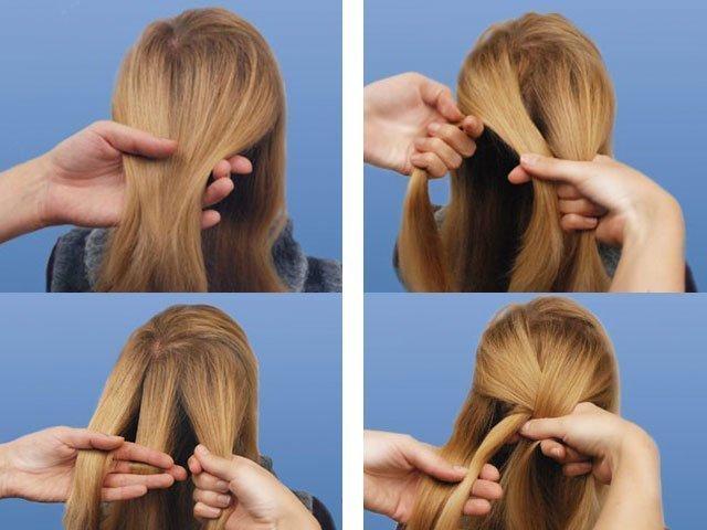 Плетение простого колоска на длинные волосы: пошаговое фото