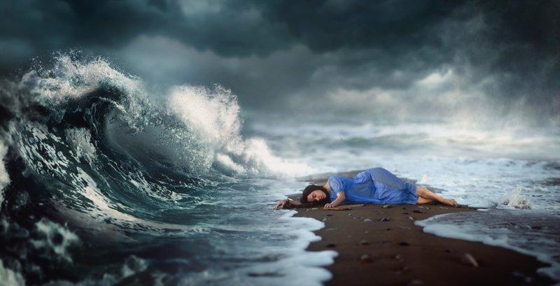 Плавать в море во сне