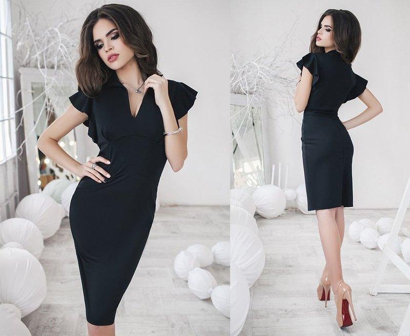 Элегантный образ с платьем-футляр