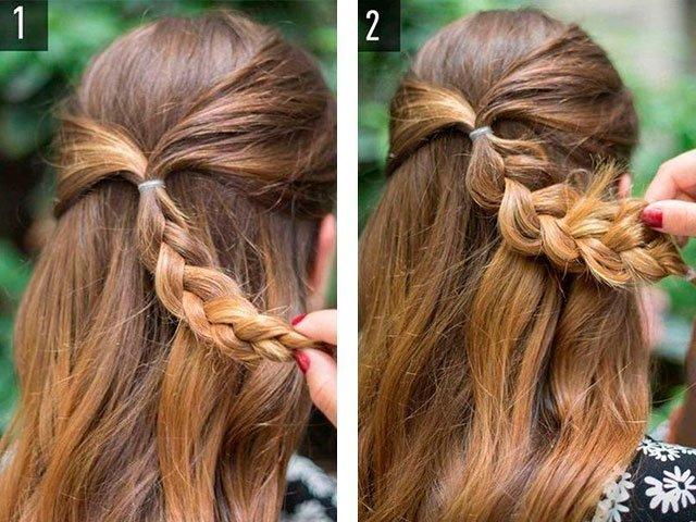 Как сделать прическу на короткие волосы? - m 30