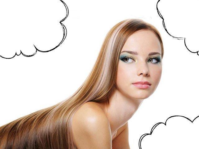Сонник длинные светлые волосы у себя
