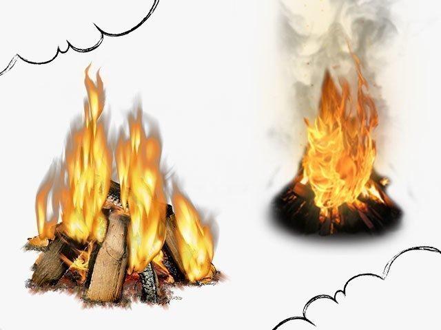 Снится огонь
