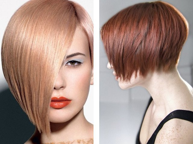 Причёски на средние волосы фото боб каре