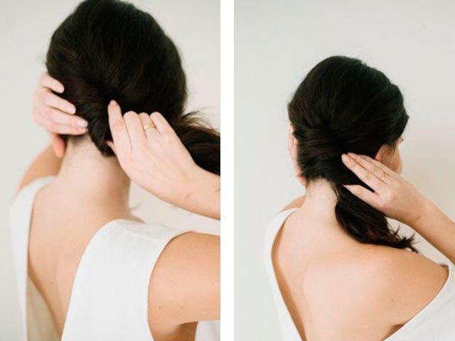 Прически вечерние на средние волосы своими руками