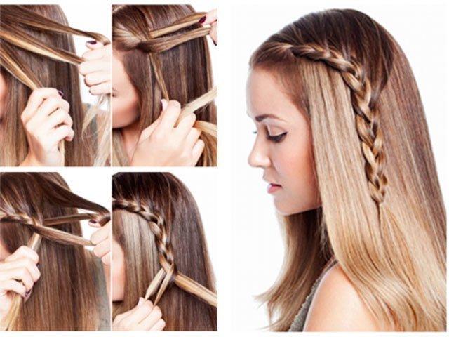 как быстро уложить волосы до плеч