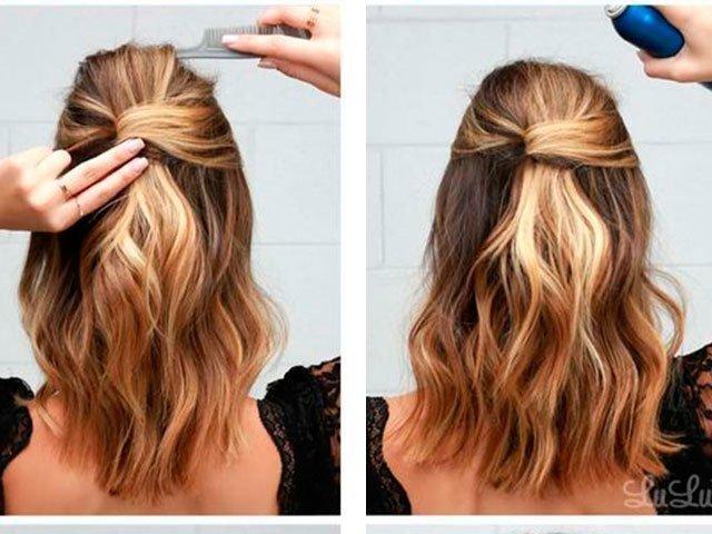 35dbf4de52d Как сделать красивые прически с распущенными волосами