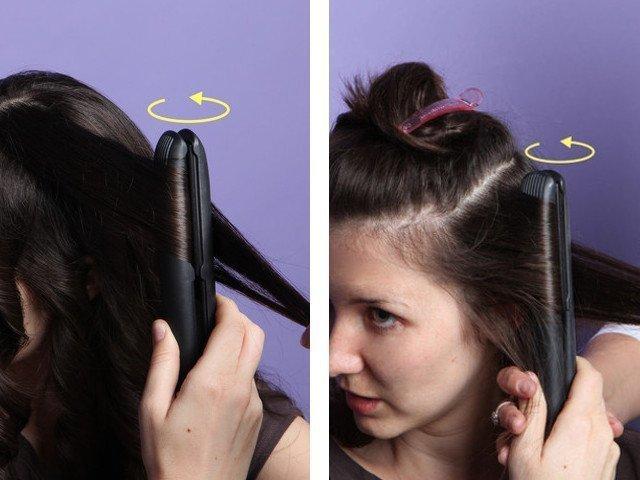 Как сделать прическу локоны на короткие волосы 26