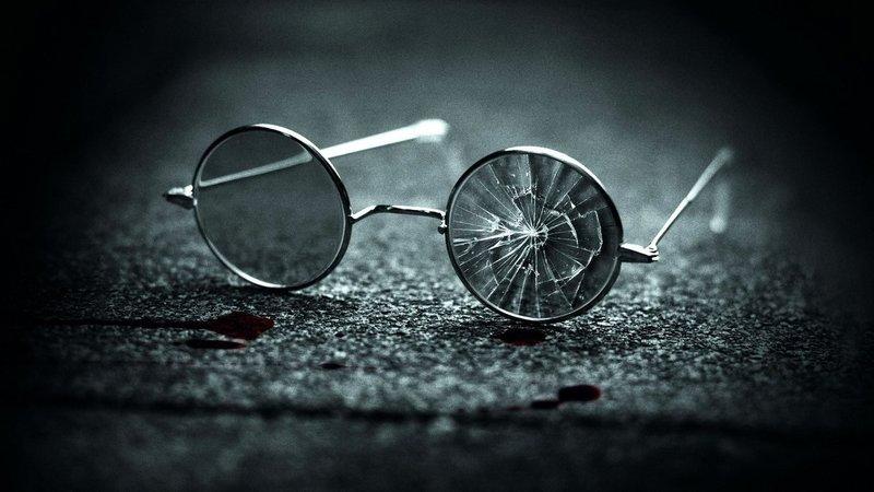 Разбитые очки во сне