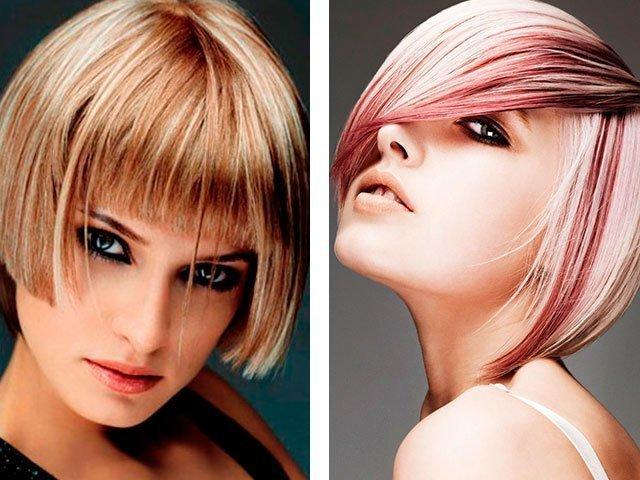 Мелирование на русые волосы : фото, мелирование челки