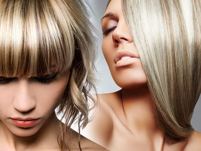 Прическа на русые волосы средней длины