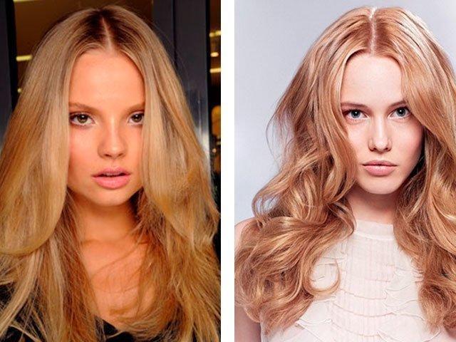медный блонд цвет волос