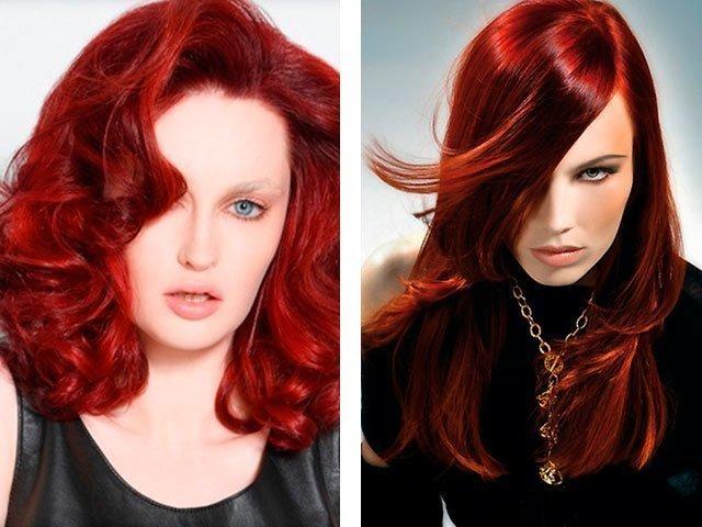 Цвет волос медно рыжий <a href=