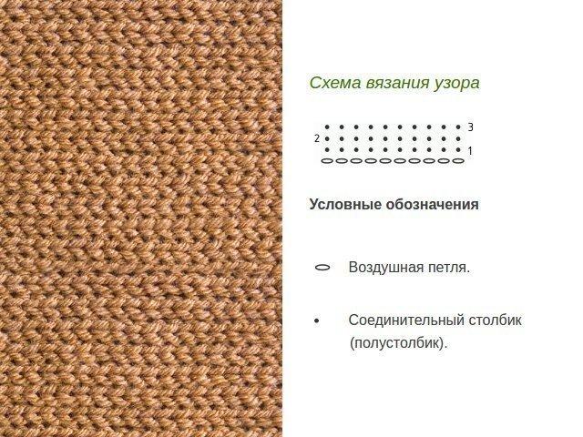 Dichtes Muster mit Häkelanleitungen
