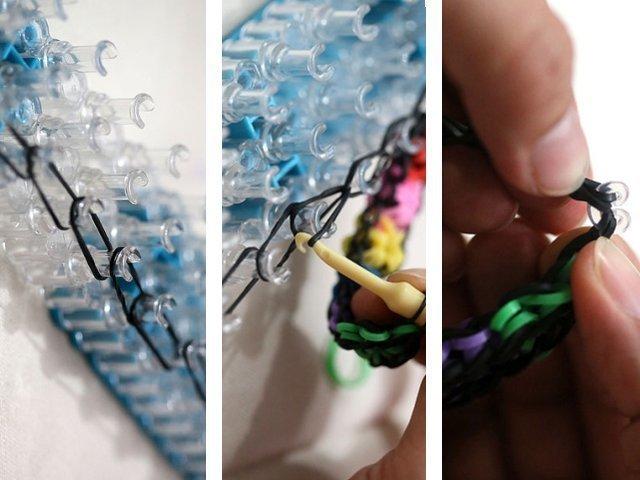 Как сделать браслет из резинок