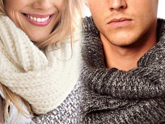 Как связать модный шарф-хомут или шарф-снуд спицами фото, видео, описание