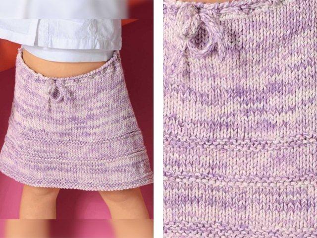 3445db784da Вязание юбки спицами - схему и описание для начинающих