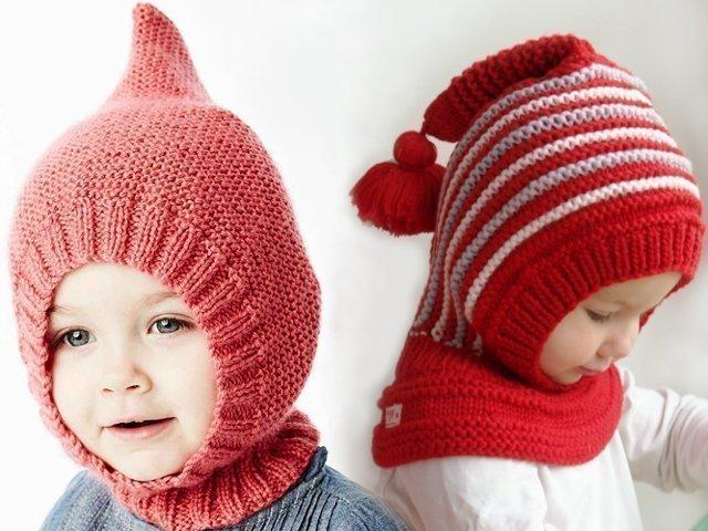 Схема вязания детской шапки шлема фото 64