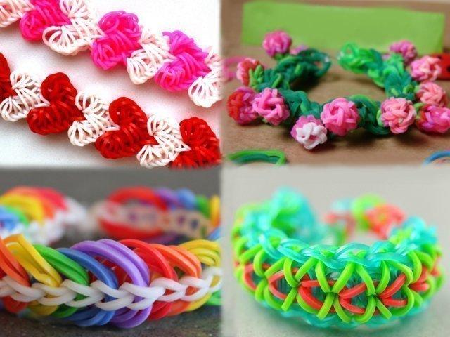 vizanie-brasletov-iz-rezinok Плетение из резинок на крючке для начинающих: уроки как делать фигурки, игрушки и плести браслеты