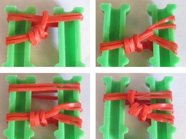 Фигурки из резинок: плетение на рогатке и станке