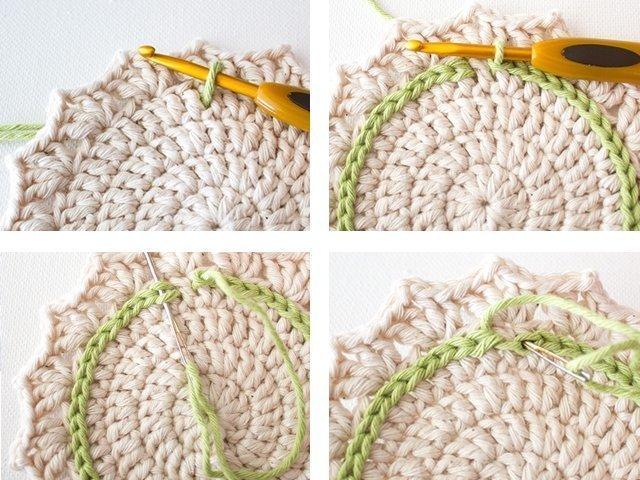 Салфетки крючком: схемы вязания, фото, идеи