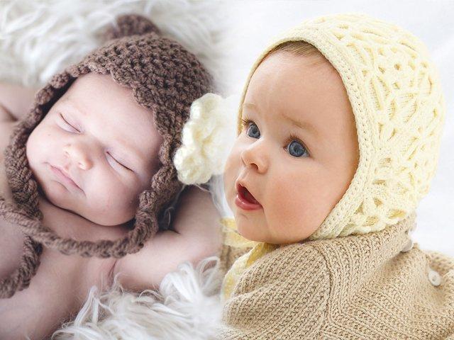 как связать чепчик для новорожденных схемы с описанием