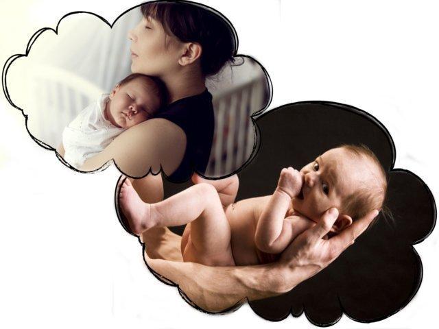 Сонник держать грудного ребенка на руках