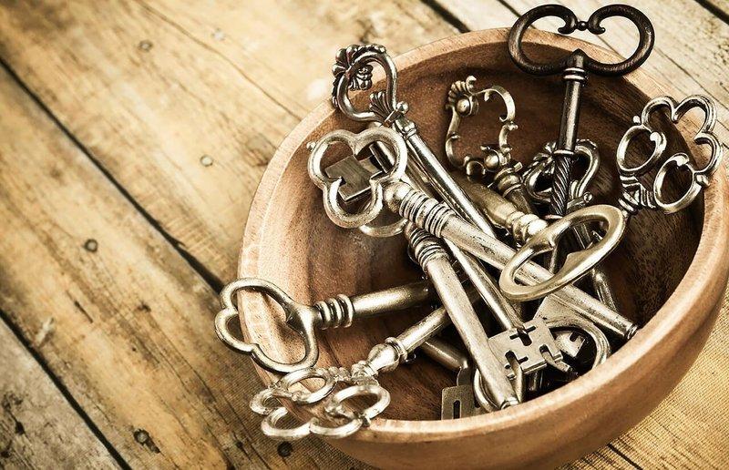 Материал ключей во сне