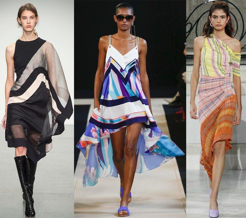 Платья из платков Antonio Berardi, Leonard Paris, Peter Pilotto