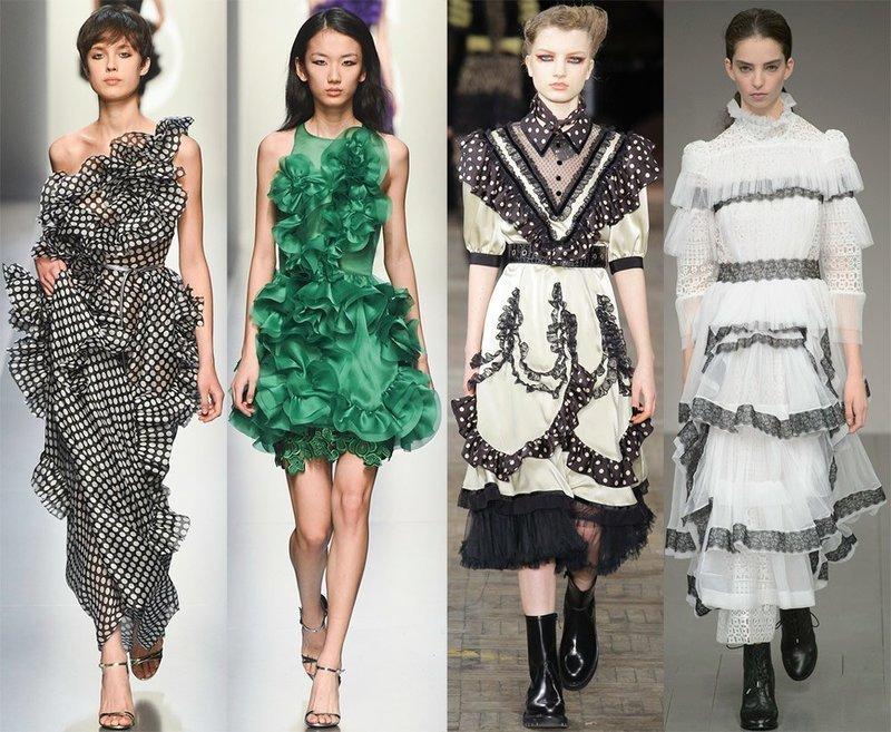 Модные платья в викторианском стиле