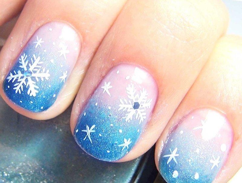 Стрижка ногтей в декабре