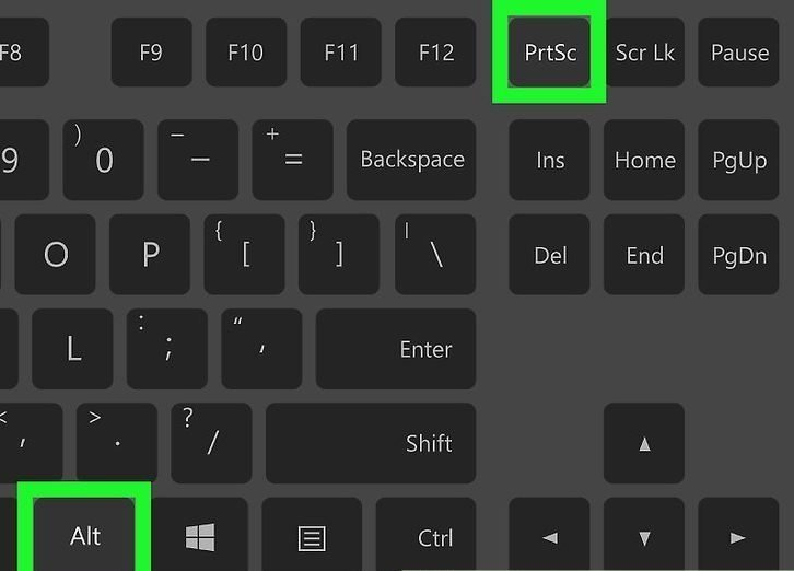 «Alt» и «Print Screen» на компьютере