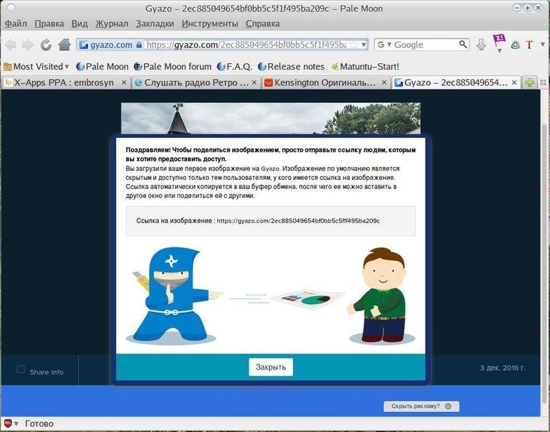 Программа Gyazo для скриншота