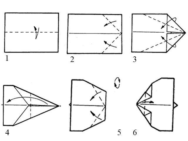 Как сделать самолет из бумаги: инструкции, фото, видео