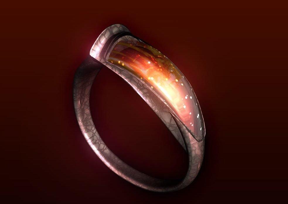 На что можно заговорить кольцо?